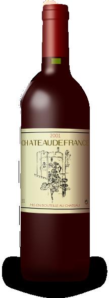 french wine bordeaux bottle clip art at clker com vector clip art rh clker com Romantic Wine Clip Art Romantic Wine Clip Art