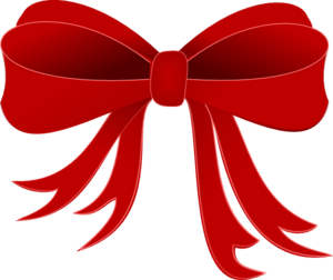 download red bow christmas clipart