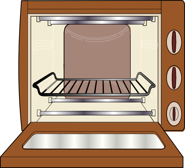 Clipart Oven 4 on baking cartoon