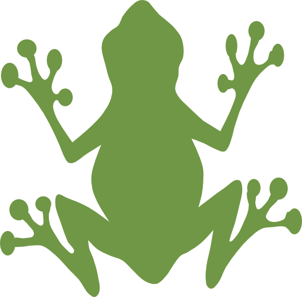 green frog clipart - photo #8