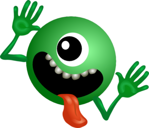 One Eyed Alien Clip Art