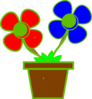 Flowers In A Vase 2 Clip Art