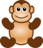 Monkey Toy Clip Art