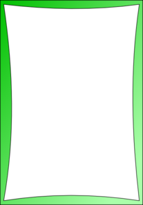 Simple Green Frame Clip Art