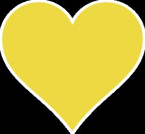 Gold Heart Clip Art at Clker.com - vector clip art online ...