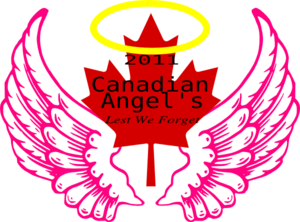 Canadian Wing Angel Halo 5 Clip Art