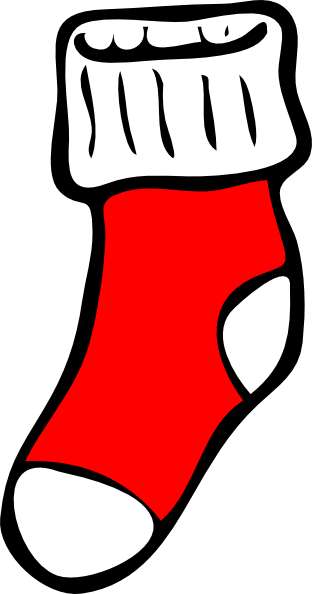 sock clip art at clker com vector clip art online royalty free rh clker com stock clipart socks clipart