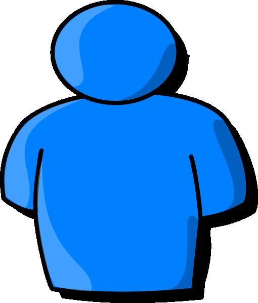Blue Person Clip Art at Clker.com - vector clip art online ...