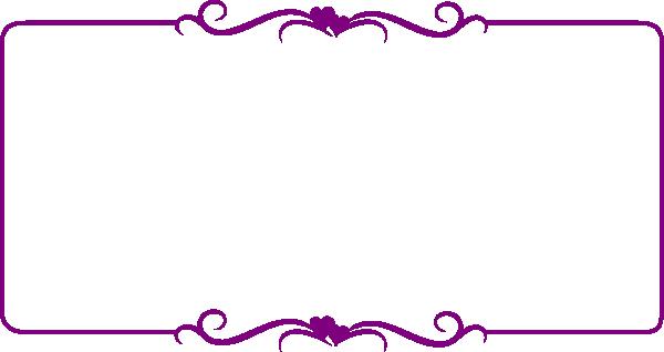 Purple Heart Frame Clip Art at Clker.com - vector clip art online ...