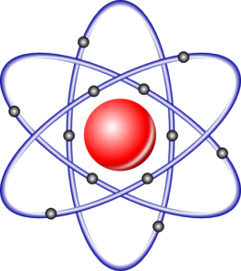 Atom Nucleus Electrons Clip Art