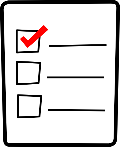 Checklist Clip Art at Clker.com - vector clip art online ...