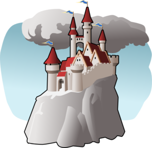 RoyaltyFree RF Clipart of Sand Castles Illustrations