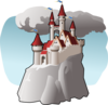 Fairy Castle Clip Art