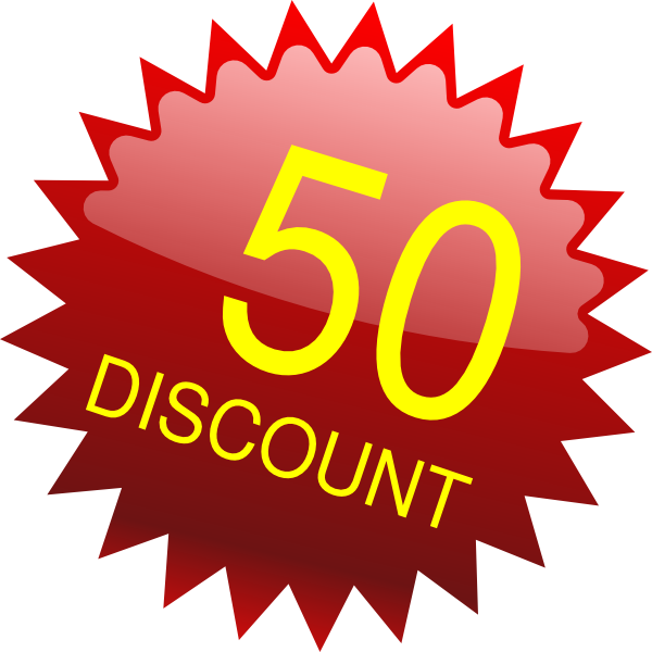 50-pounds-discount Clip Art at Clker.com - vector clip art online ...