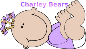 Laying Baby  Clip Art