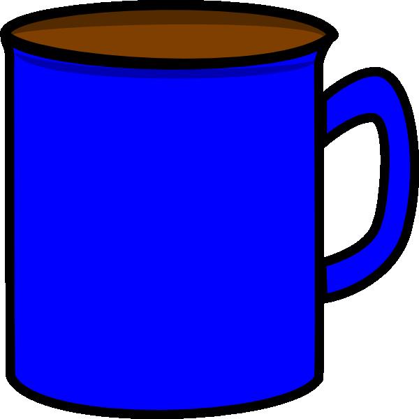 Blue Mug Clip Art at Clker.com - vector clip art online, royalty free ...