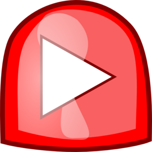Red Play Button Clip Art