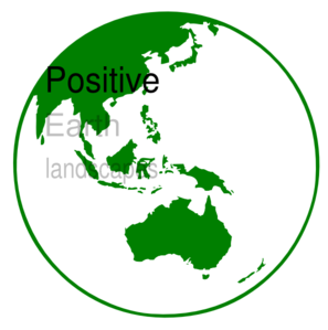 Positive Earth Clip Art