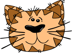 Brown Cat Clip Art