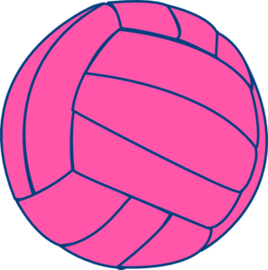 Volleyball-thin Clip Art