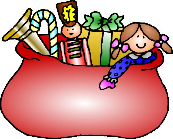 Santa Claus Bag Clip Art at Clker.com - vector clip art online ...