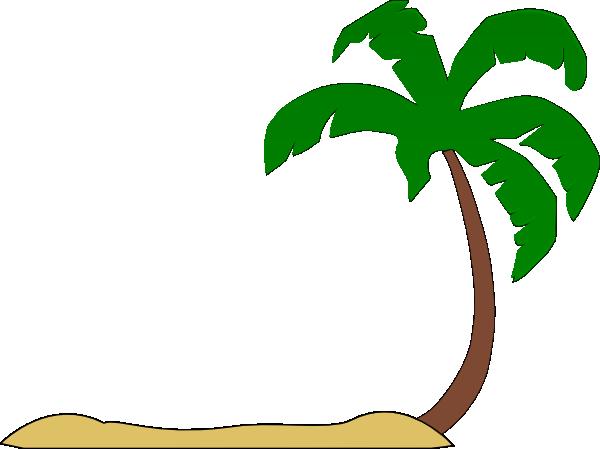 free clipart palm tree beach - photo #3