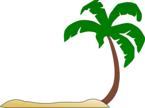 beach palm tree clip art clip art at clker com vector clip art rh clker com clipart palm trees beach clip art palm tree flag