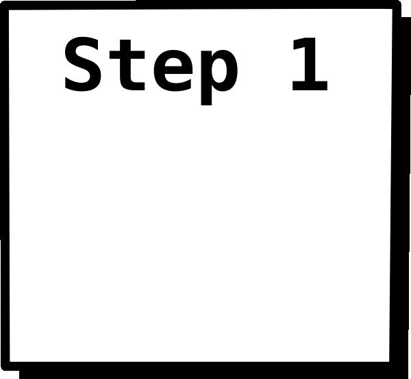 1 2 step: