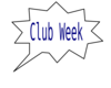 Club Week Bubble Clip Art