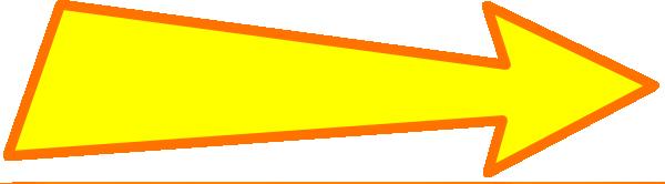 clipart yellow arrow - photo #30