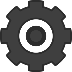 Cartoon Cog Clip Art