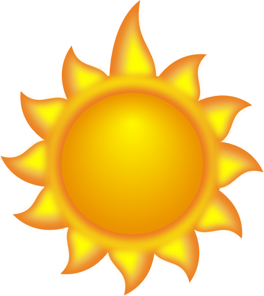 a sun cartoon with a long ray clip art at clker com vector clip rh clker com clipart of the sun to copy and paste clip art of the sun moon and stars