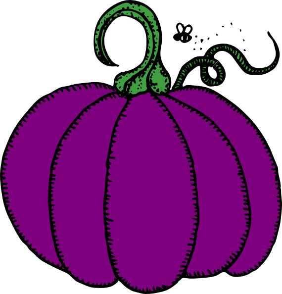 purple pumpkin clip art at clker com vector clip art online rh clker com clip art pumpkin faces clip art pumpkins for halloween