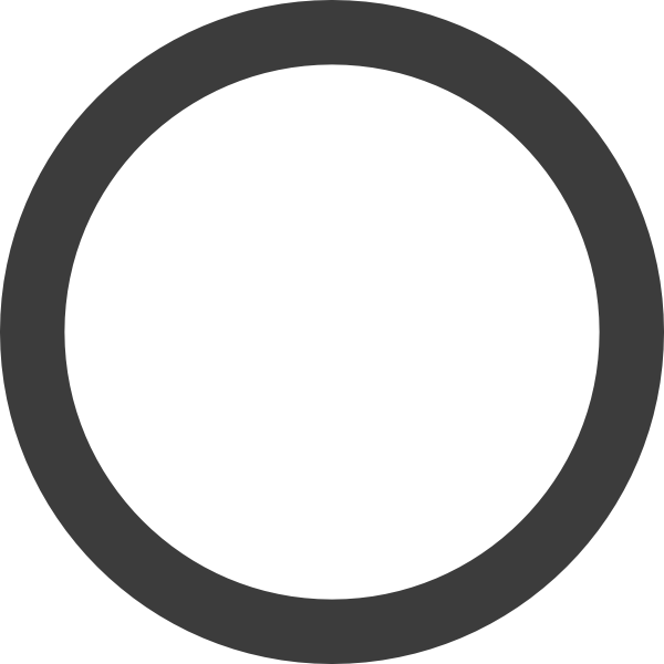 Empty Dark Grey Ring Clip Art At Clker Com Vector Clip Art Online