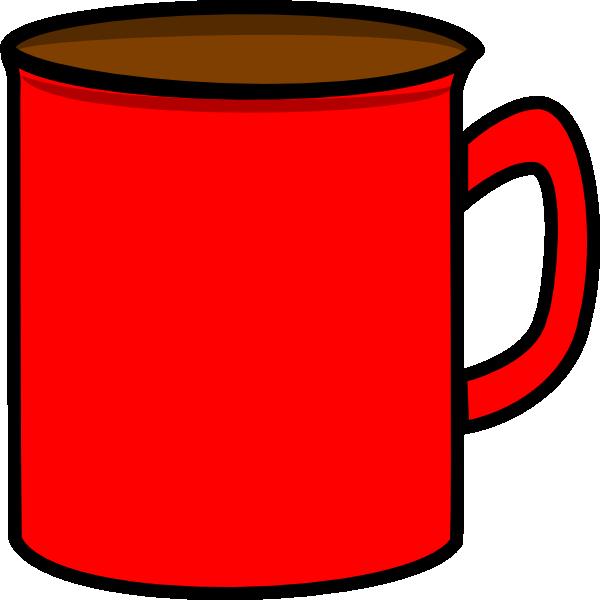 Red Mug Clip Art at Clker.com - vector clip art online, royalty free ...