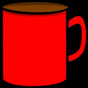 Red Mug Clip Art at Clker.com - vector clip art online, royalty ...