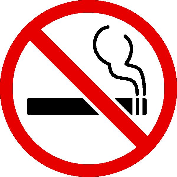 No Smoking Signs Clip Art
