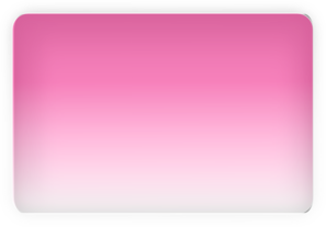 Pink Glossy Rectangle Button Clip Art