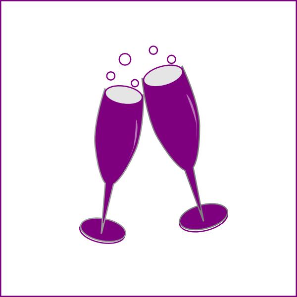 Champagne Glass Clip Art at Clker.com - vector clip art ...