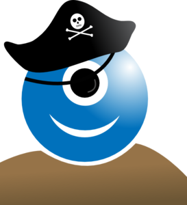 Alien Pirate Clip Art
