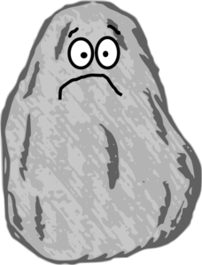 mr unhappy rock clip art at clker com vector clip art online rh clker com clipart rockstar clip art rocks and stones