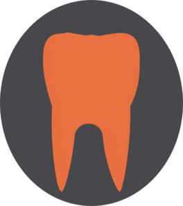 Orange Tooth4 Clip Art