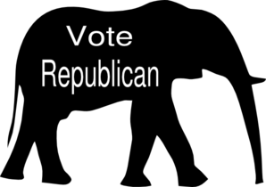 Vote Republican Clip Art