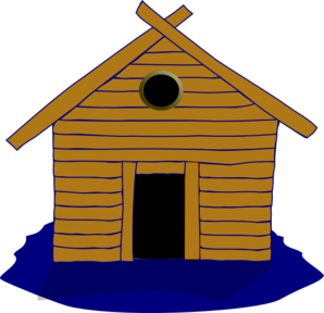 Log Home And Seasonal Clip Art