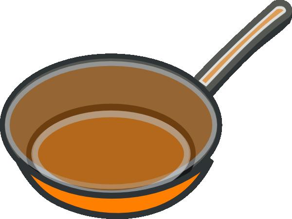 Copper Pan Clip Art at Clker.com - vector clip art online ...