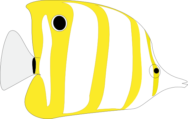free clipart tropical fish - photo #5