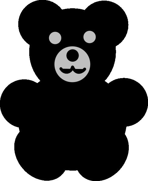 black bear clip art at clker com vector clip art online royalty rh clker com black bear clip art pictures black bear clip art free