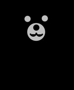 black bear clip art at clker com vector clip art online royalty rh clker com black bear clip art images black bear clip art public domain