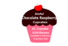 Sinful Chocolate Raspberry Cupcakes Clip Art