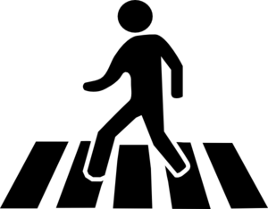Man Walking Clip Art